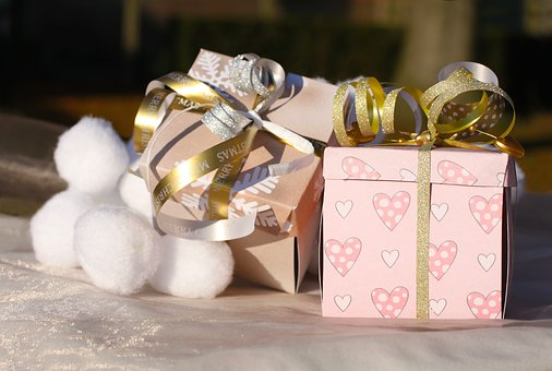 paquetes de regalos