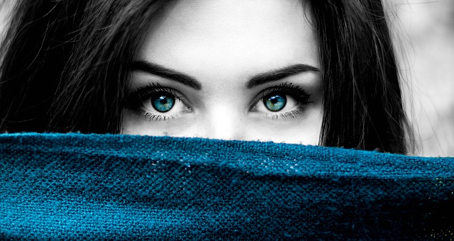 La chica de ojos claros